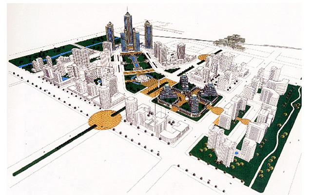 上海莘城整體規劃