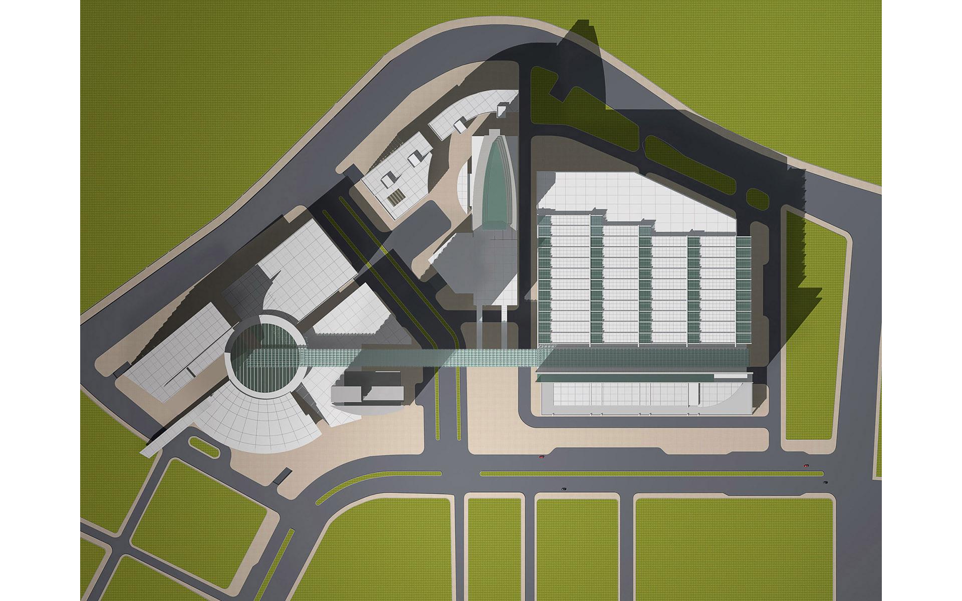南港經貿園區前期規劃