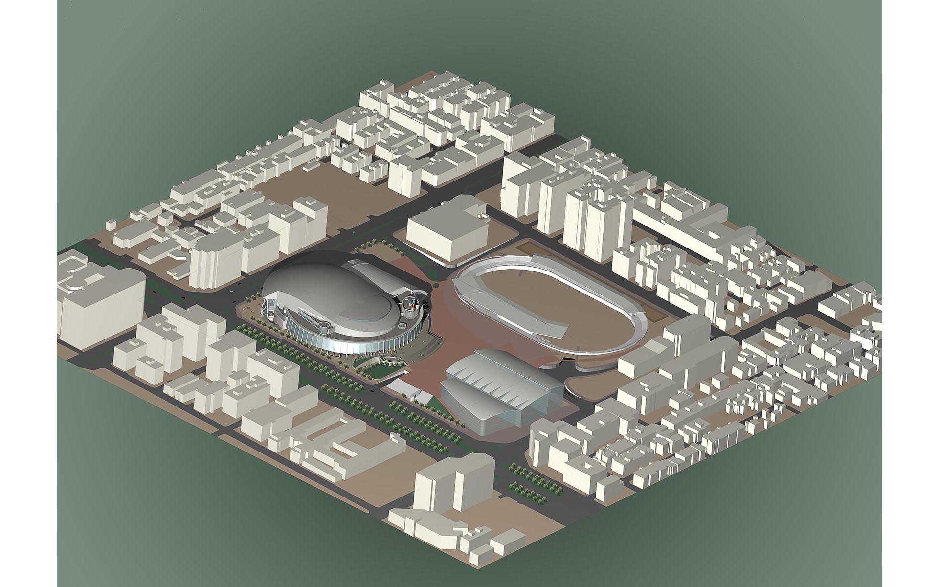 台北體育園區整體規劃