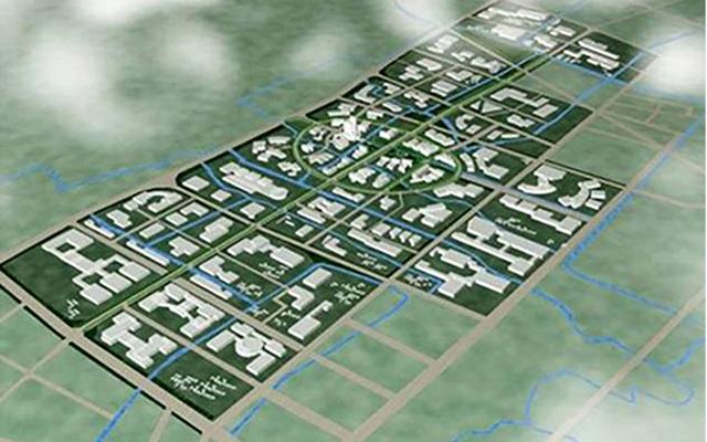 上海閔北工業區整體規劃