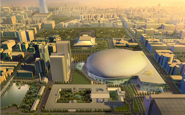 台北文化體育園區整體規劃