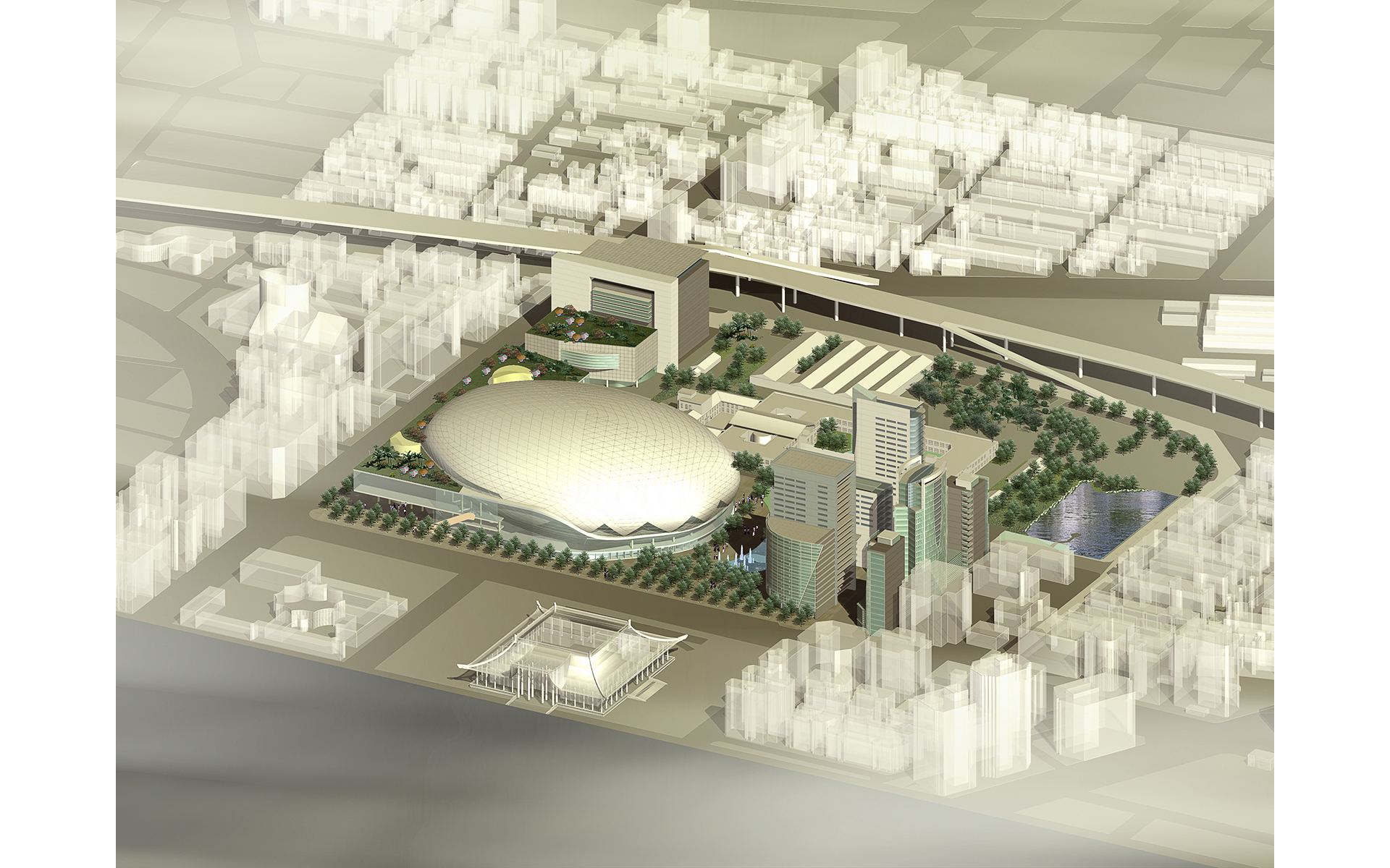 Taipei Cultural and Sports master plan