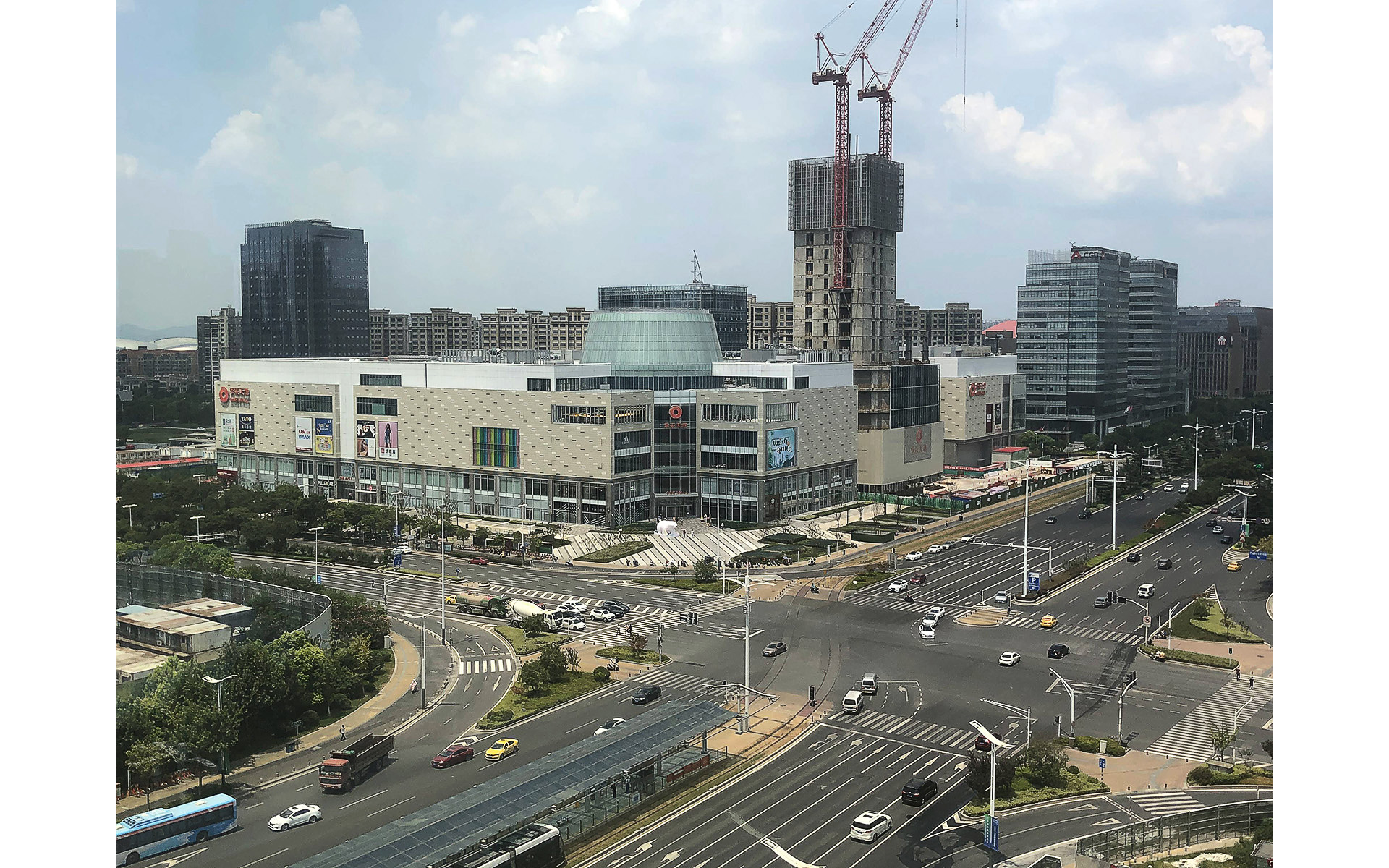 Walsin Center master plan, Nanjing