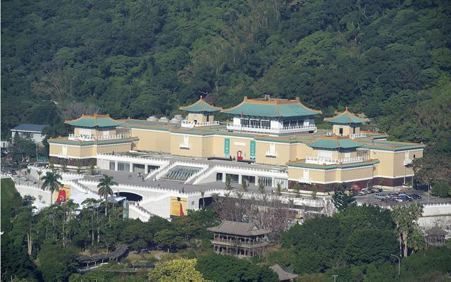 台北故宮博物院改建
