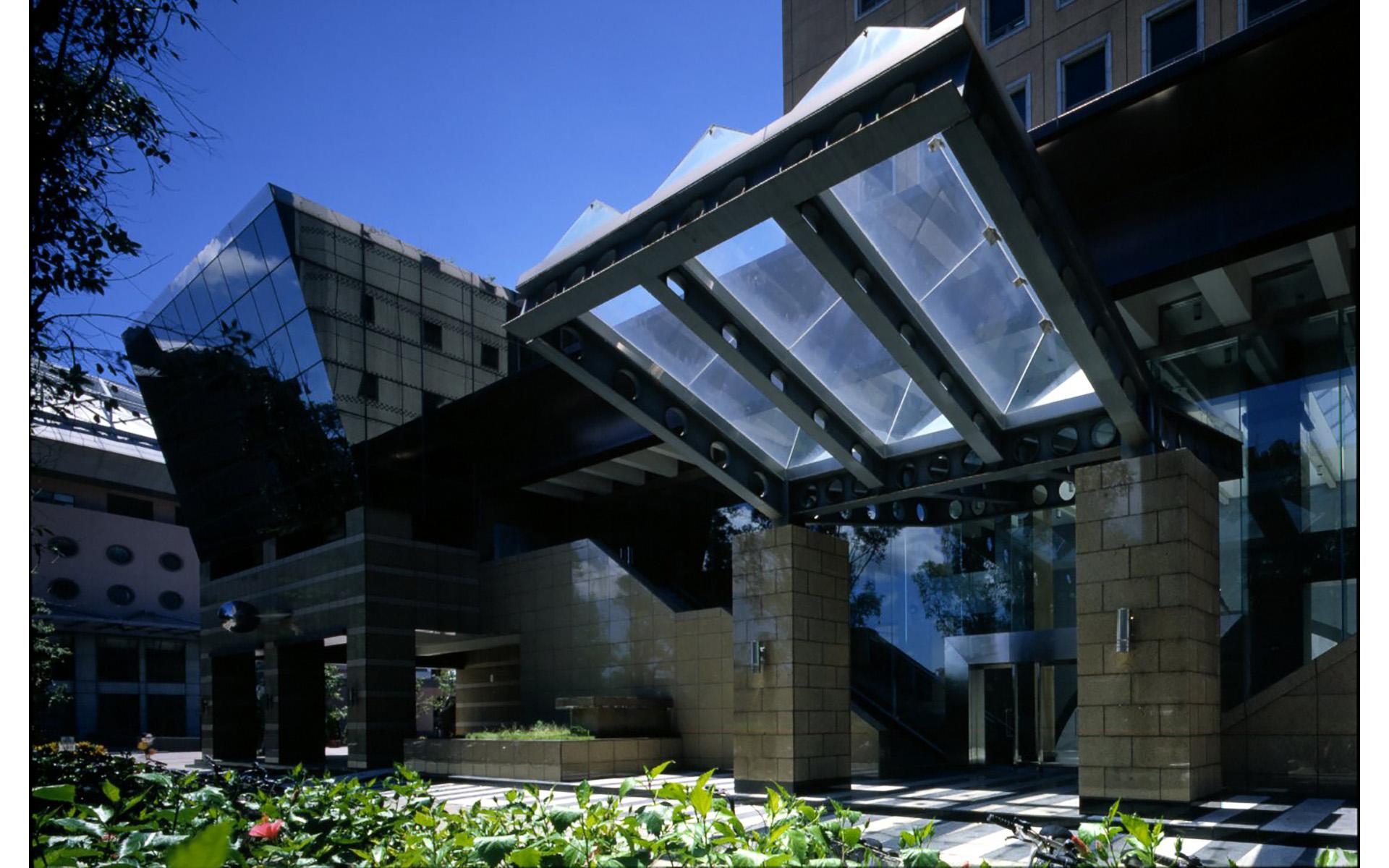 台北台灣大學凝態館