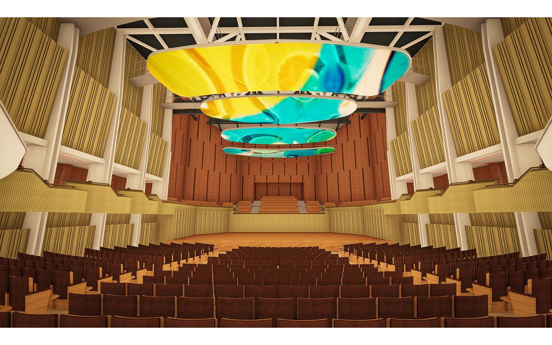 新竹清華大學音樂廳改建