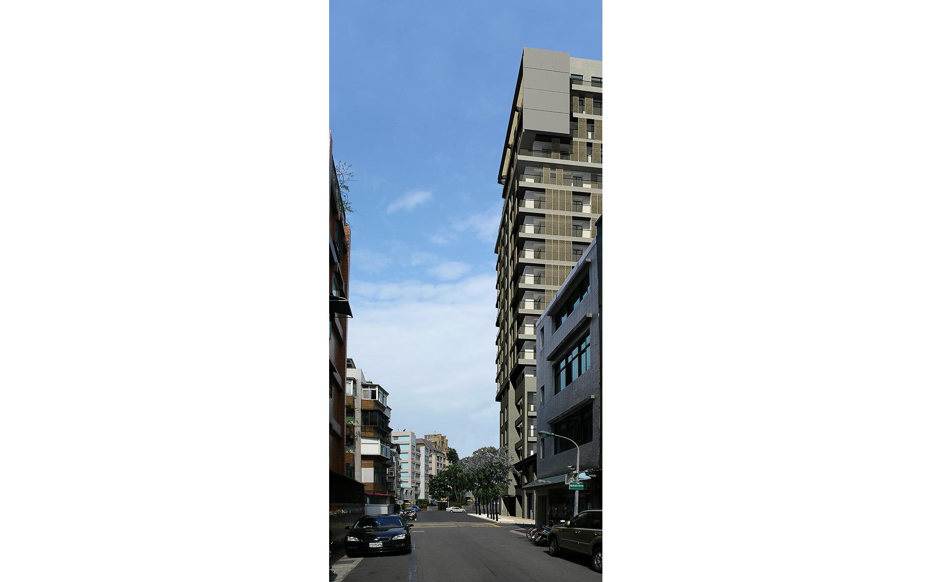 誠美台北瑞安街集合住宅