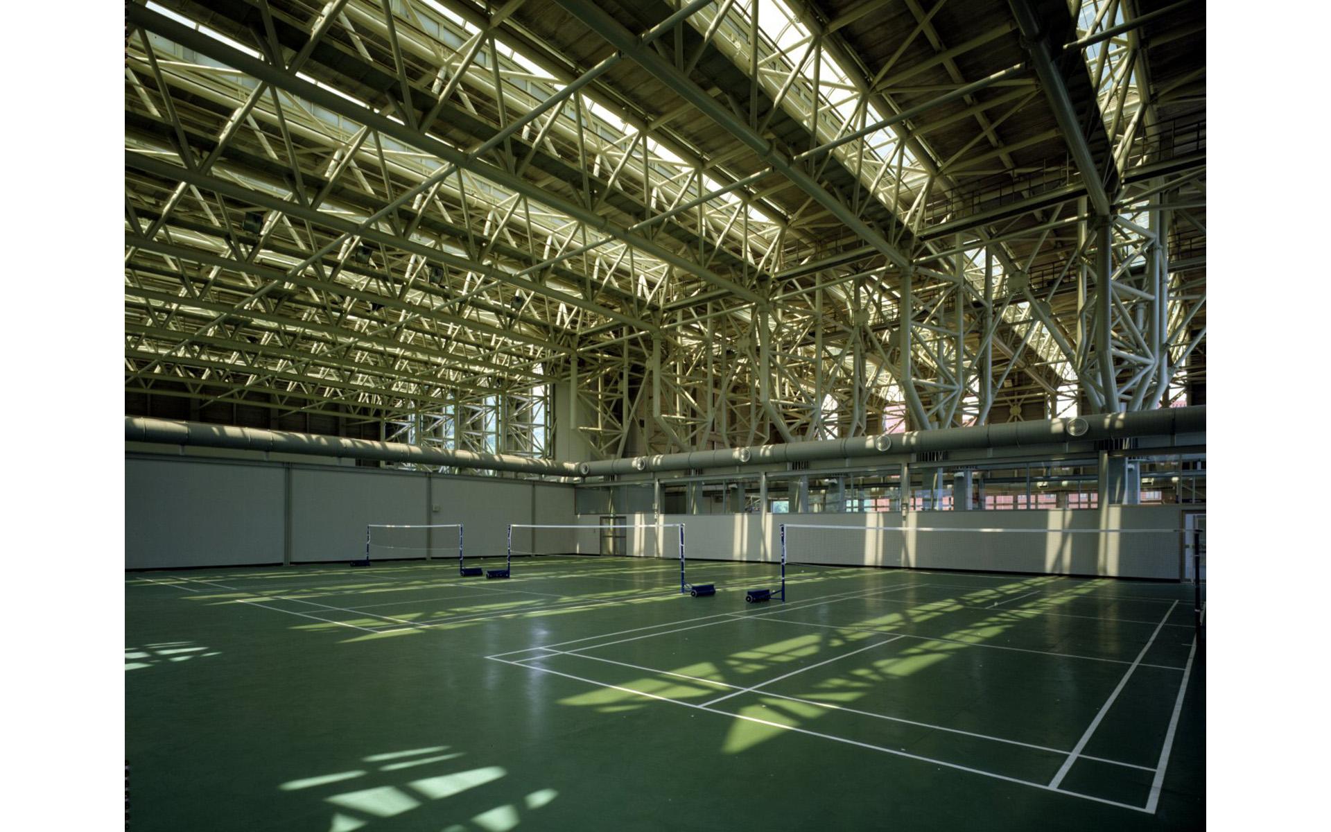 南港中央研究院體育館