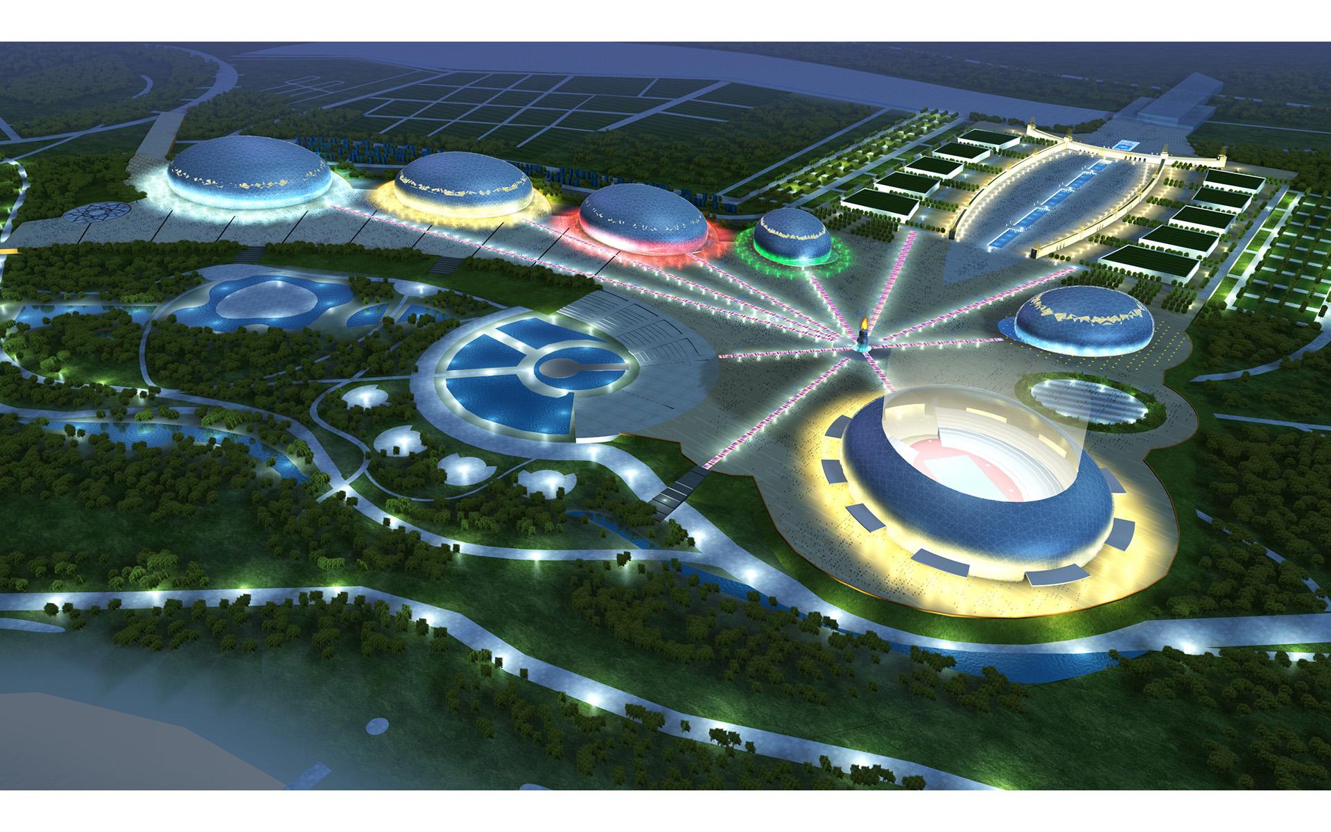 Sochi 2014冬季奧運園區前期規劃
