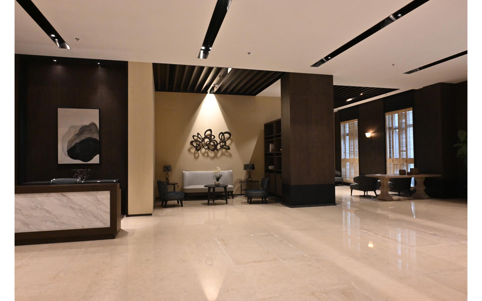 南京華新河西D地塊會所室內設計