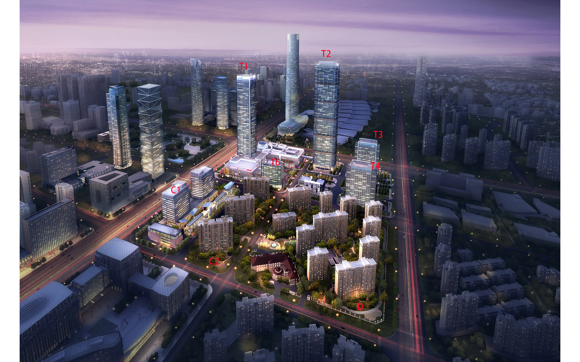 南京華新城整體規劃開發